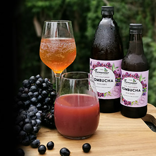 Kombucha-grape-mocktail