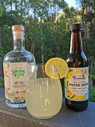 water-kefir-gin-cocktail